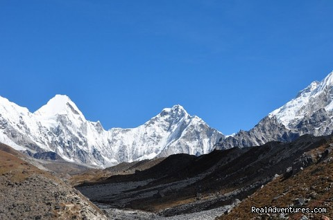 On the way to Base camp - Everest Base Camp Trekking