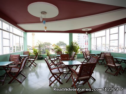 Breakfast Terrace - Green Suites