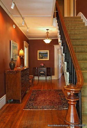 Historic and Elegant Coastal Maine Inn Bed & Breakfasts Brunswick, Maine