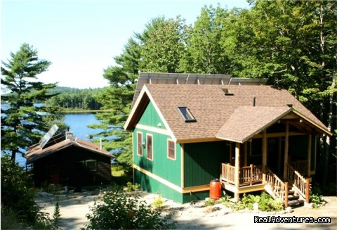 Image #4 of 25 - Solar Powered Williams Pond Lodge Bed & Breakfast