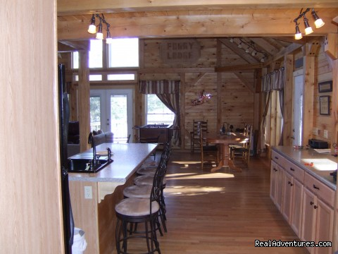 Breakfast nook - Foggy Lodge A Home Away From Home - Book Early
