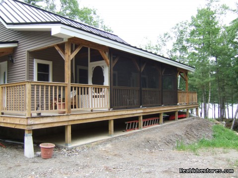 Screened in porch - Foggy Lodge A Home Away From Home - Book Early