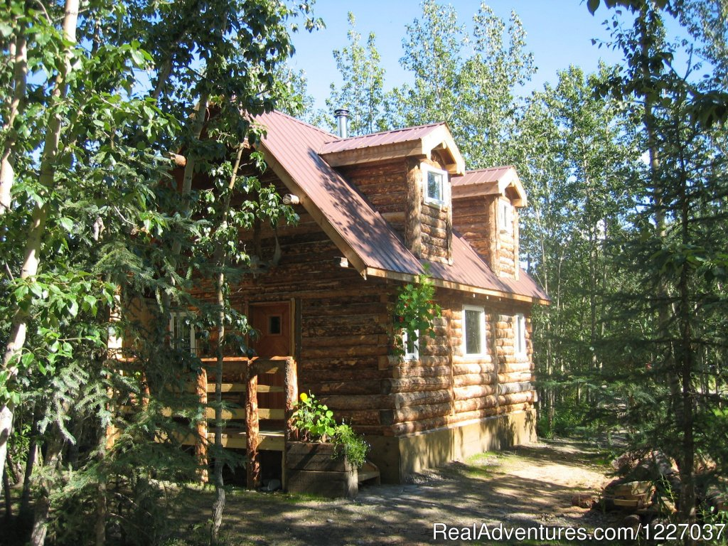 We offer classic Alaska accommodations in three rustic and cozy, furnished private cabins, each with a kitchenette. 