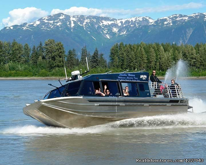 Jet Boats on the Stikine River | Image #4/14 | Wilderness Adventure Tours in Wrangell, Alaska