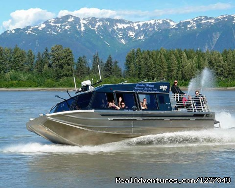 Jet Boats on the Stikine River - Wilderness Adventure Tours in Wrangell, Alaska