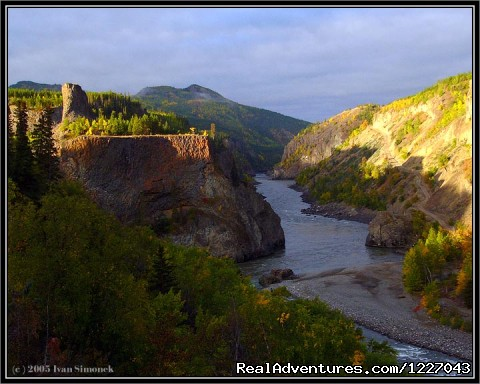 Sunrise on the upper Stikine  - Wilderness Adventure Tours in Wrangell, Alaska