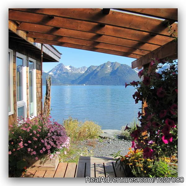 Charming modern cabins sit on the shores of Resurrection Bay, for couples each cabin has 1 queen bed &  private bathroom with shower.  Water-view rooms also available. Very special place OPEN Most of the Year. 100% Tobacco free property/420 friendly.