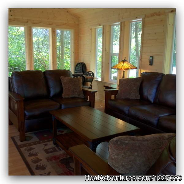Gathering House family room style furniture | Image #22/26 | The Best Waterfront Lodging in Seward Alaska