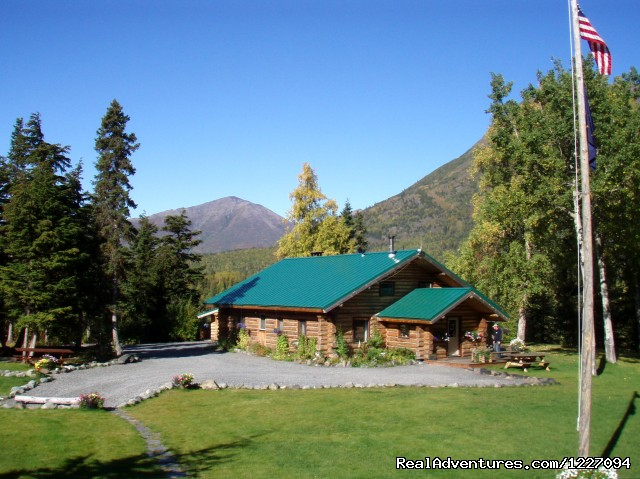 At the doorstep to adventure Alaska Heavenly Lodge Cooper Landing, Alaska Vacation Rentals