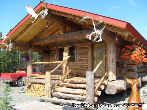 - Alaskan Wooden Bear Cabins