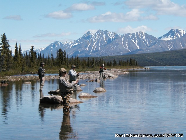 Lake Clark National Park Bee-U-Tea-Fool - High Adventure Air Charter