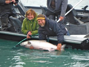 Salmon fishing in Alaska with Eric Loomis Fishing Soldotna, Alaska Fishing Trips