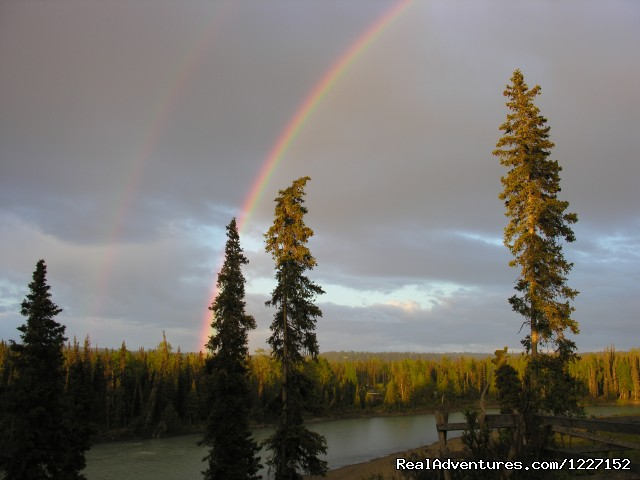 Double Rainbow at Gallery Lodge - Gallery Lodge