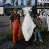 Halibut fishing in Cook Inlet Alaska Big fish, little guys