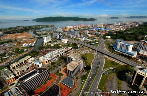 Aerial view of Kota Kinabalu (#1 of 25) - 5d/4n Sabah Below The Wind Esplanade Packages