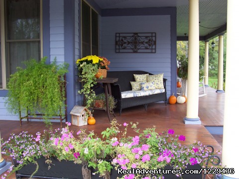 Miller's Daughter, Fall porch (#9 of 9) - Miller's Daughter B&B