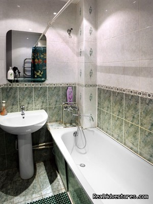 Bathroom - Private modern apartment in  very center of Minsk.