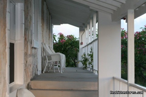 Hut Pointe Upstairs Exterior - Hut Pointe Inn-Eco-Friendly Suites- Bahamas