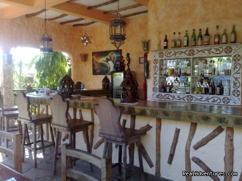 Main Bar Tembo Restaurant - Unforgetable Days at Watamu Tembo Village Resort