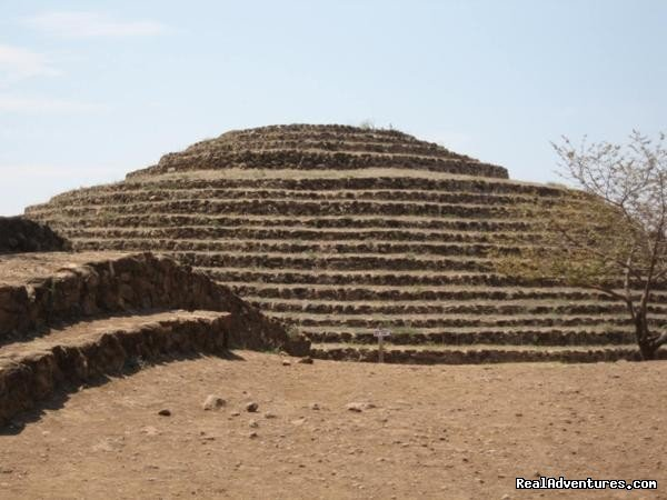 The Pyramids of Guachimontones at Teuchitl?n | Image #5/13 | Horseback Riding Mexican Tours