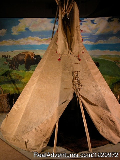 Buffalo Hide Tipi (#4 of 4) - Dakota Discovery Museum