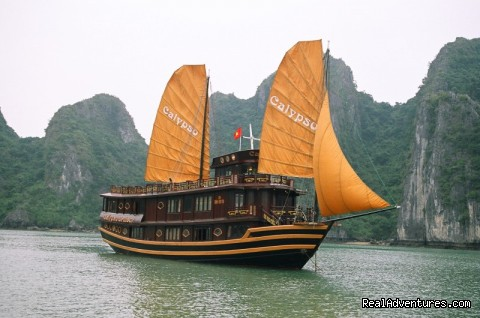Luxury Calypso Cruiser of Halong bay 115usd person Calypso Cruises