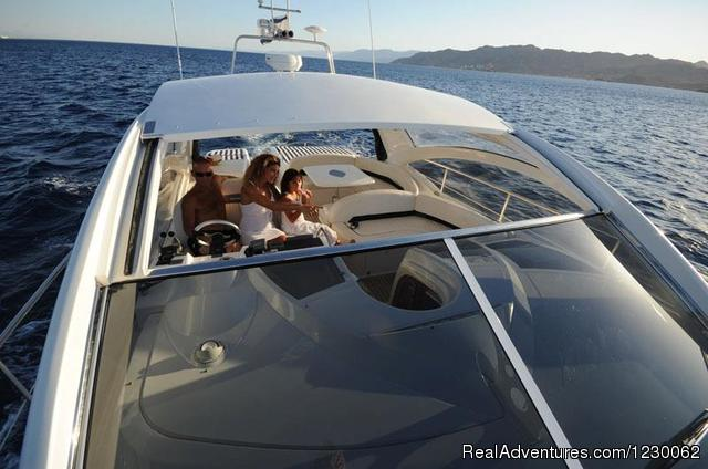 The Best Yachts Choice of Eilat-Red Sea Fairline Targa 18 meters