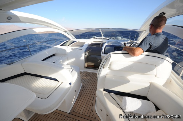 Saloon Princess 23 meters - The Best Yachts Choice of Eilat-Red Sea