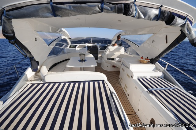 Princess 23 meters - The Best Yachts Choice of Eilat-Red Sea