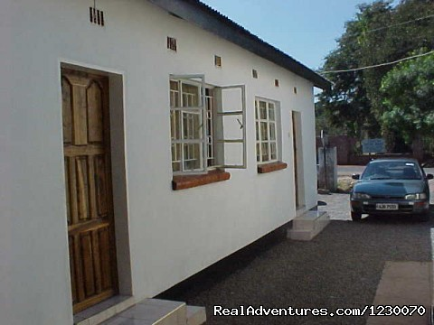 Outside Room 8 & 9, Side View - Excting weekend Getaways at Comfort Guesthouse