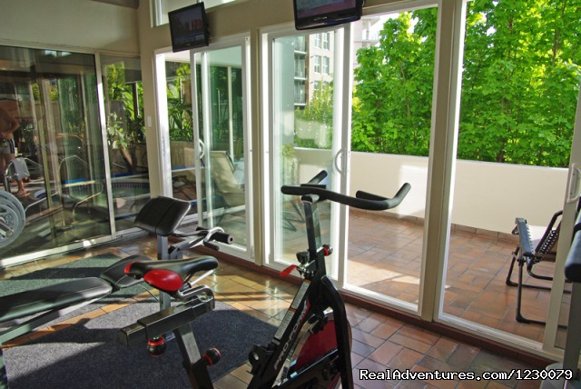 Fitness Studio and Sundeck (#7 of 12) - One Bedroom Harbour View Suites - Victoria