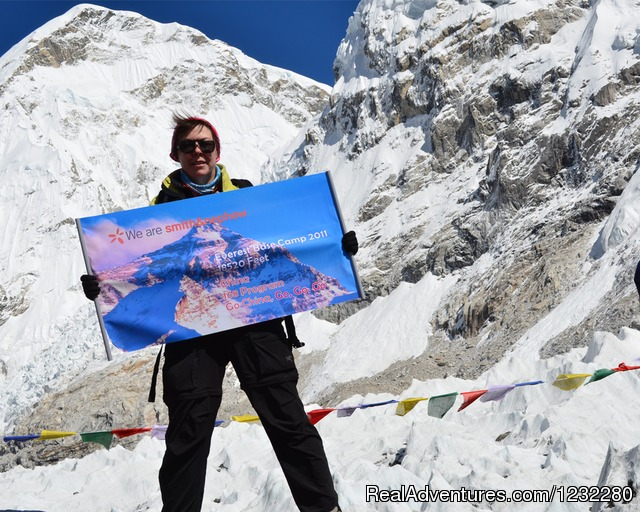 Everest Base Camp - Everest Base Camp Trekking, Nepal