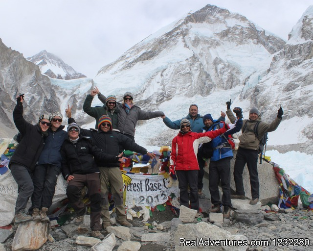 Spring Group on Everest Base Camp - Everest Base Camp Trekking, Nepal