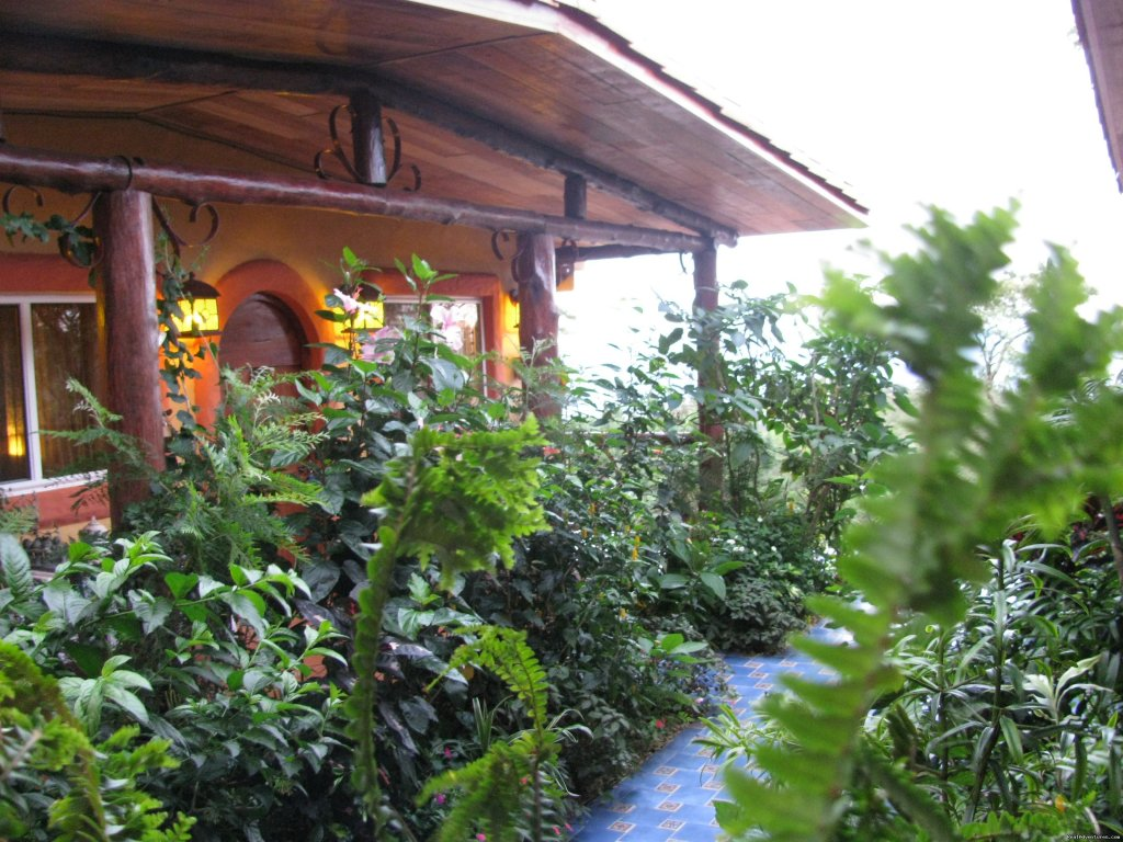 View from inner patio | Image #21/25 | Cabanas en Altos del Maria, Cabins for rent.