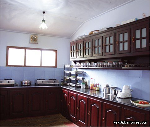cosy houseboat kitchen | Image #3/10 | Alappuzha Luxury Kerala Houseboats