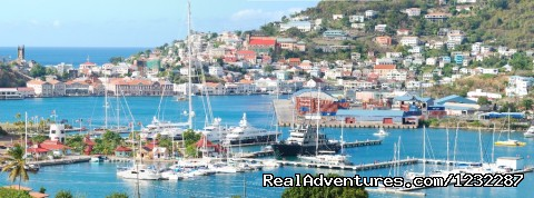 Luxury superyacht marina at Port Louis, Grenada: Port Louis Marina