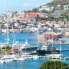 Luxury superyacht marina at Port Louis, Grenada
