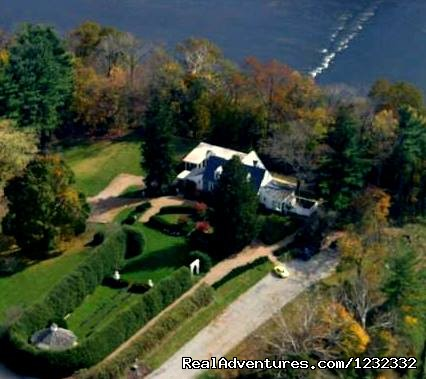 Aerial View - Romantic Weekend Getaways at Nesselrod B & B