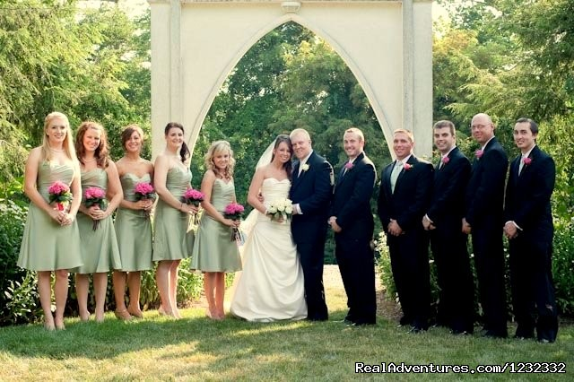 One of our favorite weddings - Romantic Weekend Getaways at Nesselrod B & B