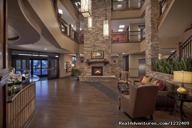 Front Desk Lobby and Fireplace View (#7 of 8) - Best Western Premier - Ivy Inn & Suites
