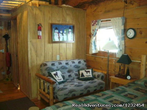 - Grapevine Log Cabins B&B