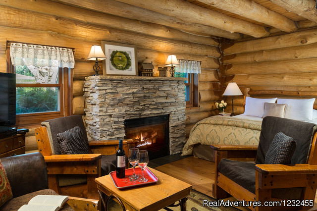 Paul Bunyan log home @ Justin Trails Resort - Justin Trails B&B Resort