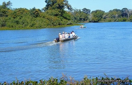 Boat Ride on Pantanal River - Pantanal Adventure Tour Packages