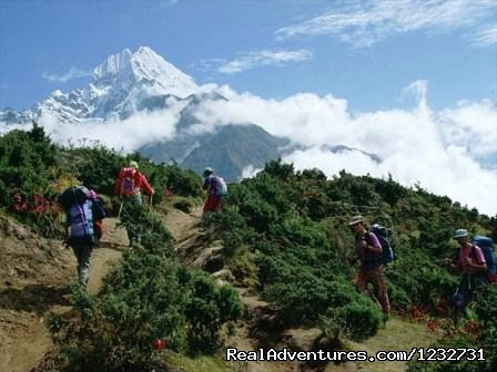 Thamserku - Mount Everest Base Camp Trekking