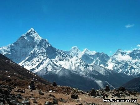The view from Syangboche - Mount Everest Base Camp Trekking