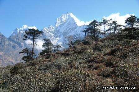 Mt thamserku - Mount Everest Base Camp Trekking