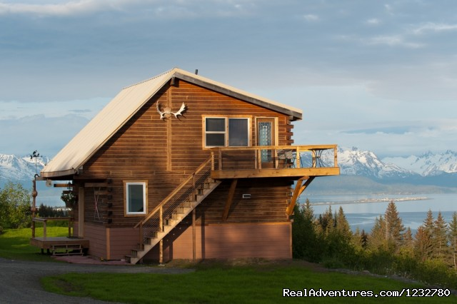 The Glacier View Log Cabin - Alaska Adventure Cabins