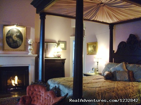 The Master Bedroom Suite - $170 - Corners Mansion Inn  A Romantic Getaway