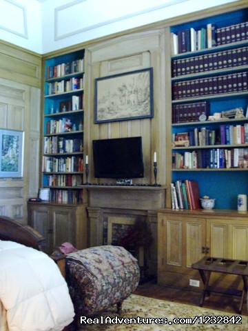 The Library Room - $145 - Corners Mansion Inn  A Romantic Getaway