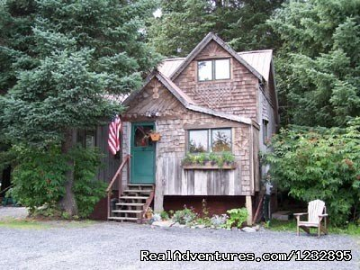 3 two bedroom houses with a full bath & kitchen/full size refrigerator, range, microwave, toaster, coffee pot, pots & pans & dishes/picnic area with a barbecue grill & fire pit/located on  Lowell Pt. in Seward, Alaska with beach access 1 block away.